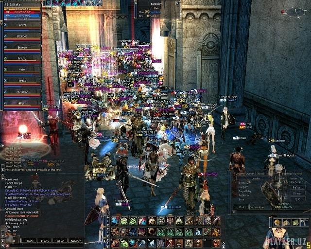 MMORPG играть бесплатно онлайн